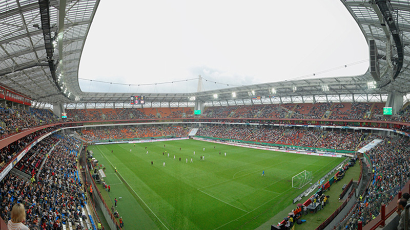 Football Stadium Lokomotiv